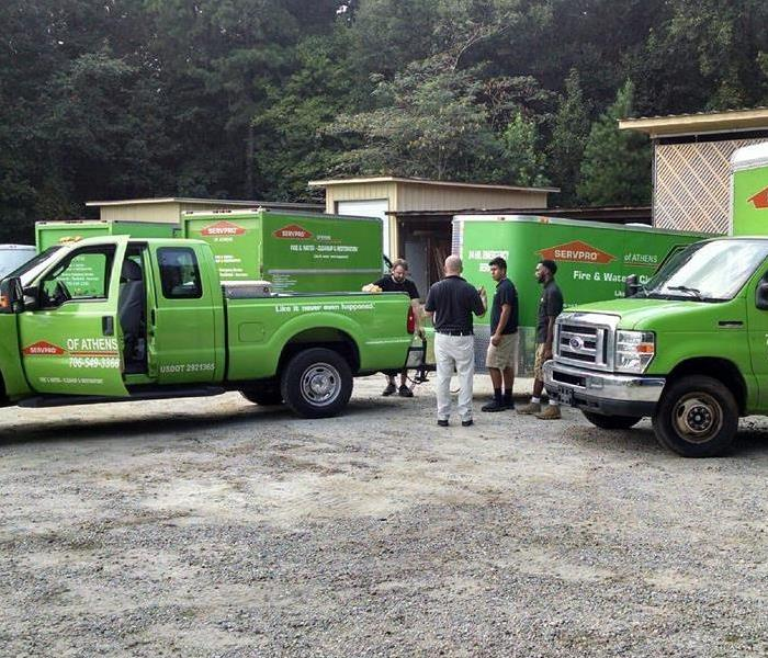 Mornings at SERVPRO of Monroe, Madison & Monticello